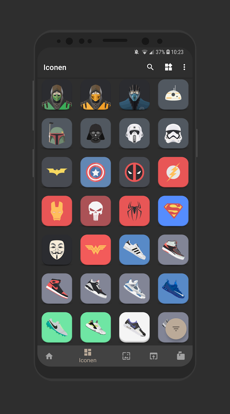 Eclectic Icons Screenshot 5