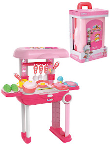 """Игровой набор серии """"Профессии"""", чемодан, розовый"""