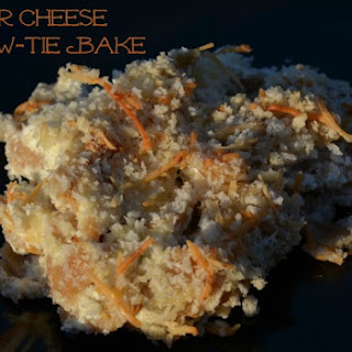 Four Cheese Bow-Tie Bake Recipe + Giveaway #SummerPastabilities