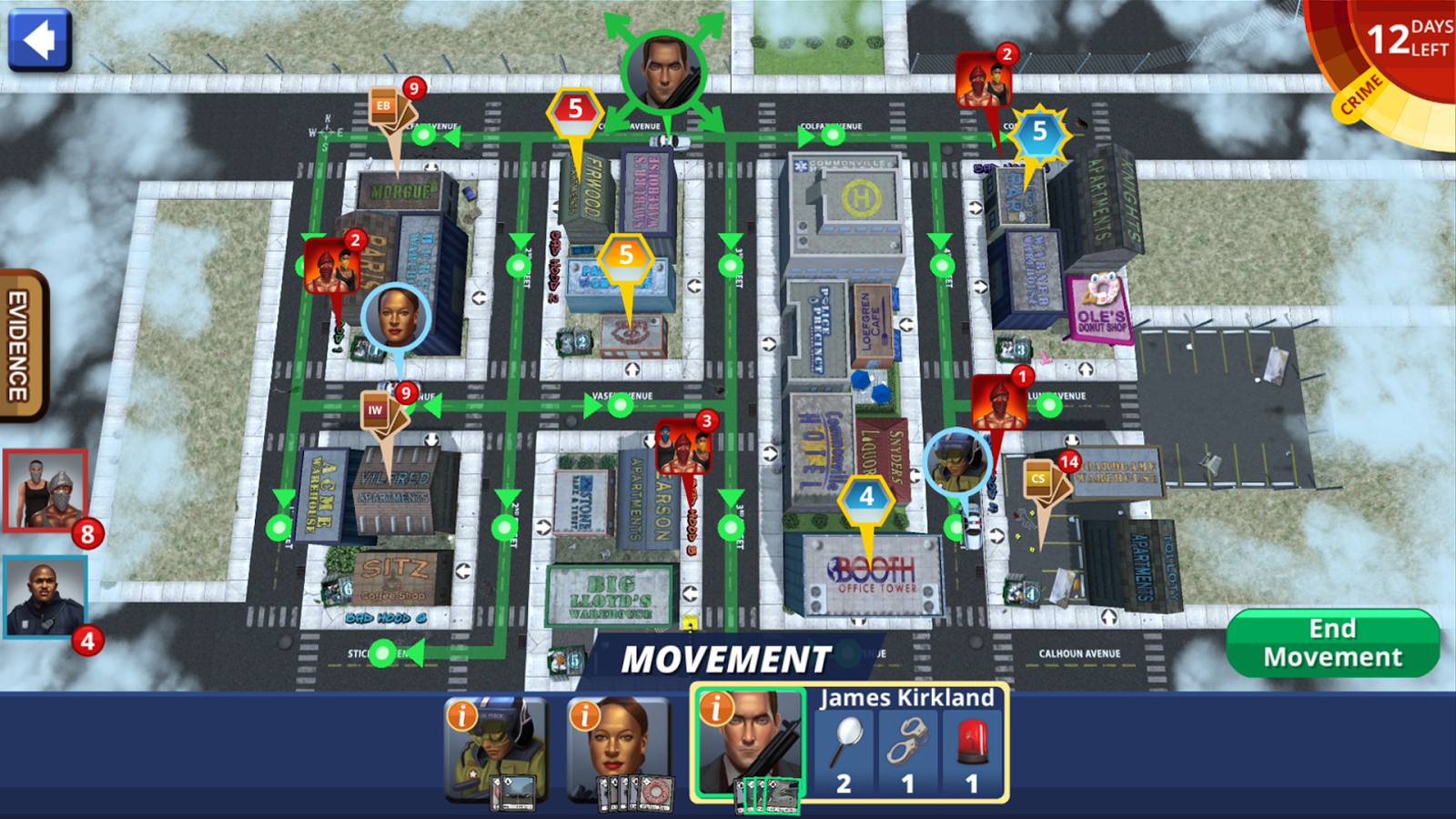 Police Precinct: Online Screenshot 1