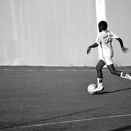 Run ... by Paula Guerra - Sports & Fitness Soccer/Association football ( football, hobby, sport, kids, soccer,  )