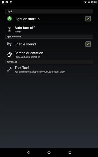 Flashlight HD LED screenshot 10