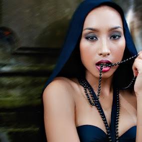 Jamae De Gollo - Gothic by Gian Mark Quidasol - People Portraits of Women