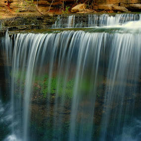 by Dana Johnson - Landscapes Waterscapes ( waterfalls, waterscape, cascade, falls, landscape, spring )