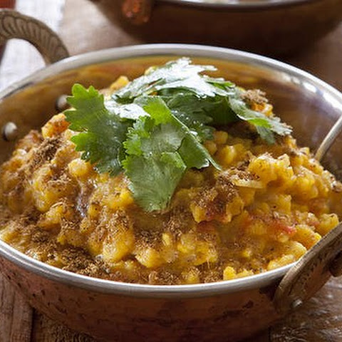 Garam Masala And Red Lentil Dhal