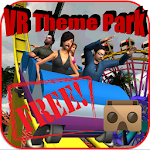 VR Theme Park Cardboard Free Icon