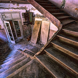 Staircase by Bojan Bilas - Buildings & Architecture Decaying & Abandoned