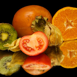 fruits with tomatoes by LADOCKi Elvira - Food & Drink Fruits & Vegetables ( fruits )