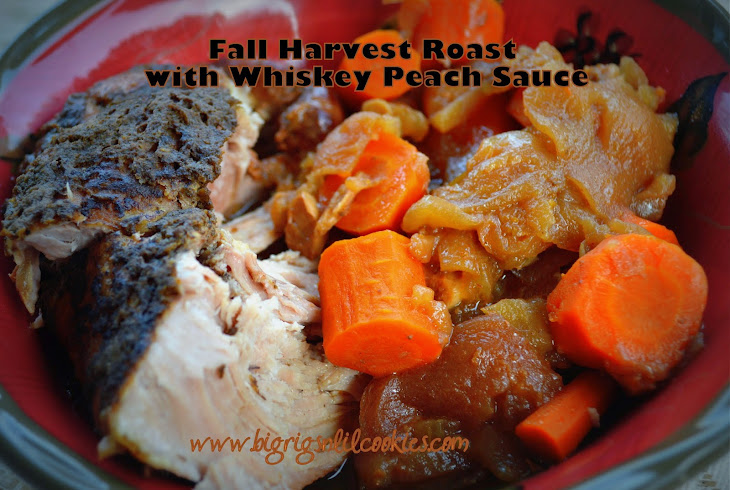Fall Harvest Roast with Whiskey Peach Sauce Recept | Yummly