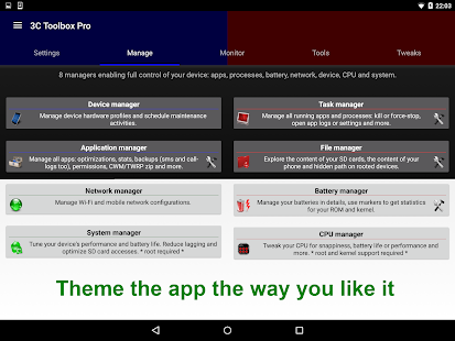 3C Toolbox Pro Screenshot