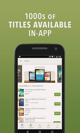 NIV Bible by Olive Tree screenshot 5