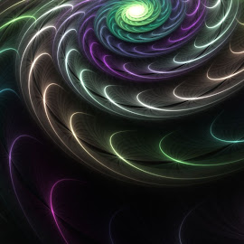 by Chris Stallwood - Illustration Abstract & Patterns ( abstract, abstract curves, art work, jwildfire, 3d fractals, illustration, art, line, digital, 3d fractal, pattens, abstract art, attractive, lines. patten, fractal art, digital art )