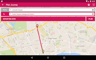 Screenshot of London Bus Checker Free: Times