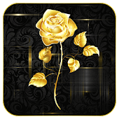 App Rose Golden Live wallpaper APK for Windows Phone