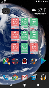 BitQuote Stock Widget screenshot for Android
