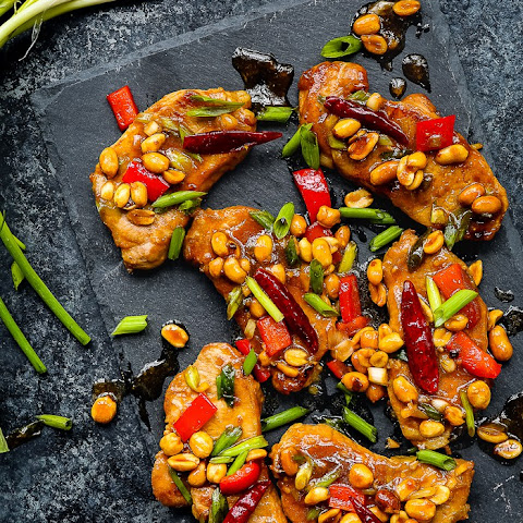 Easy Kung Pao Pork Chops