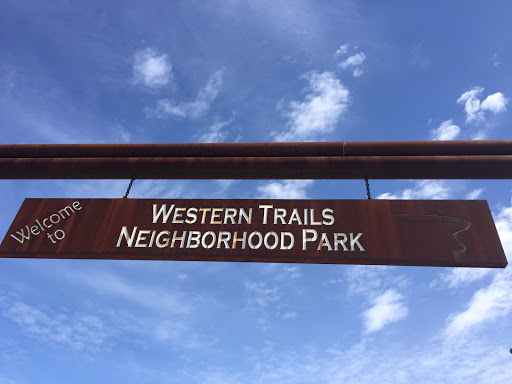Western Trails Park Entrance