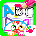 ABC Draw! Alphabet games! Preschool games for kids Icon