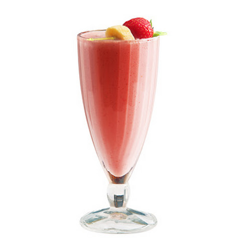 Low-Calories Strawberry Banana Juice