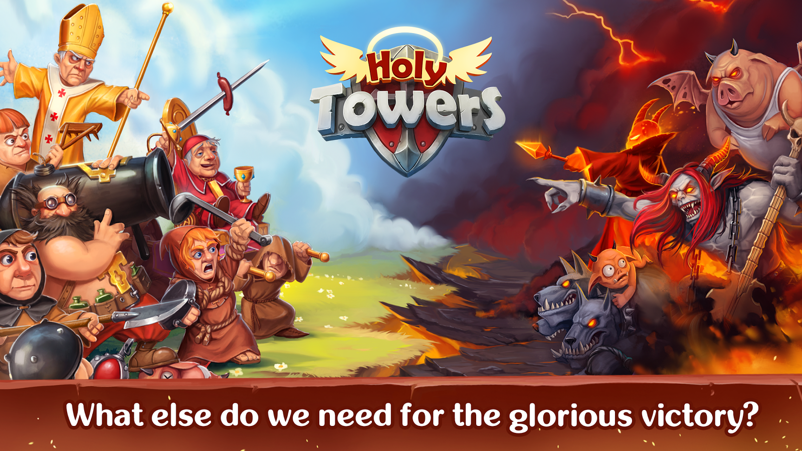 Holy TD: Epic Tower Defense Screenshot 4
