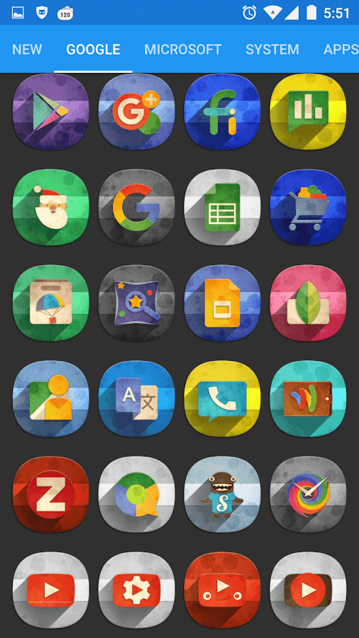 Classic Material Icon Pack Screenshot 11
