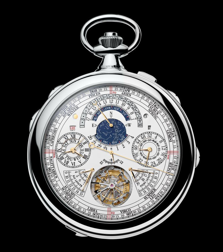 Reference 57260, the most complicated pocket watch in the world