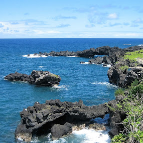 Hana, Maui by Anu Sehgal - Landscapes Waterscapes