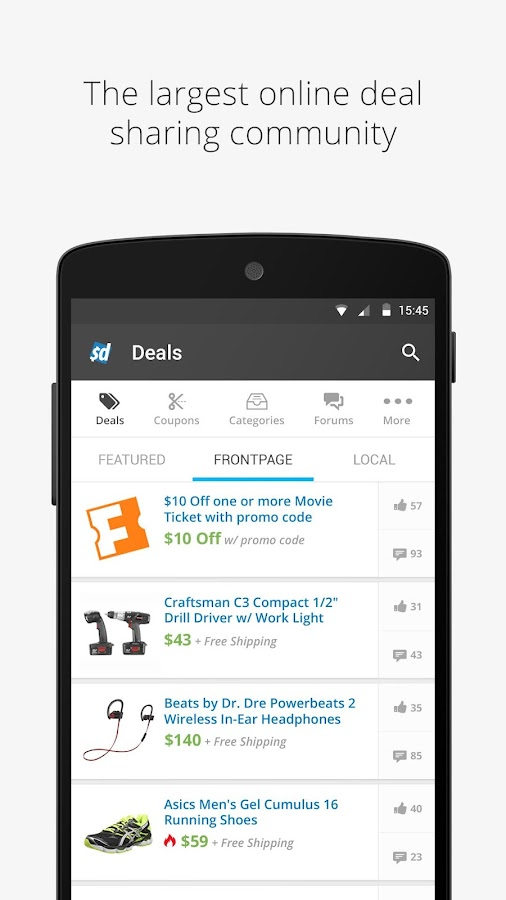 Slickdeals: Coupons & Shopping Screenshot 0