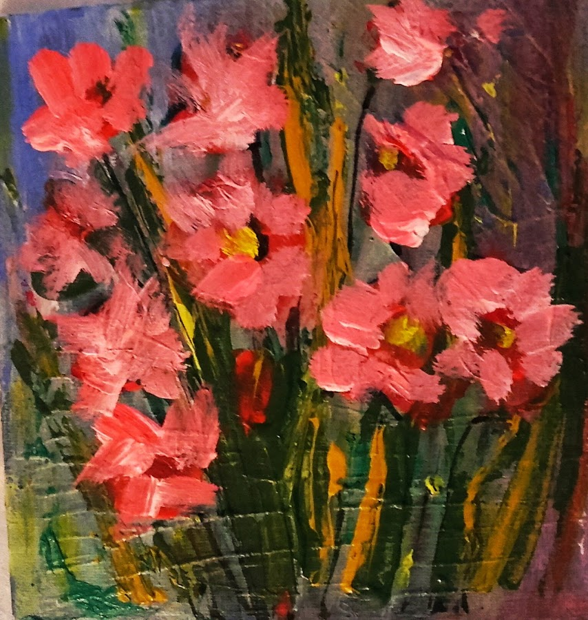 Spring in love by Vanja Škrobica - Painting All Painting