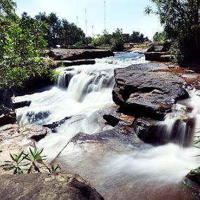 Waterfall by Lang Solina - Nature Up Close Water