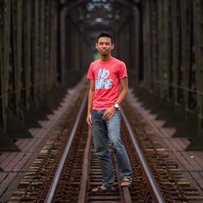 Guillemard Bridge II by RiNeo aFnIzAn - People Portraits of Men