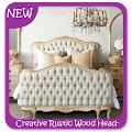 Download Creative Rustic Wood Headboard APK for Android Kitkat