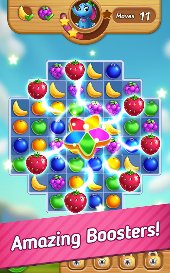 Fruits Mania : Elly's travel Screenshot 1