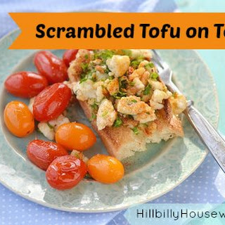 Scrambled Tofu on Toast