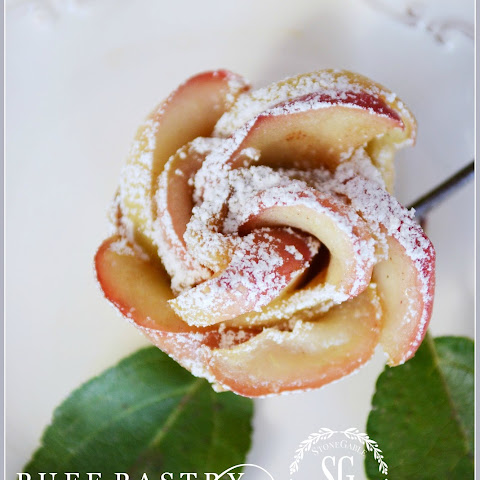 StoneGable Puff Pastry Apple Rosettes