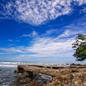 Old Pier by Rizky Darmawan - Landscapes Waterscapes ( landscape )