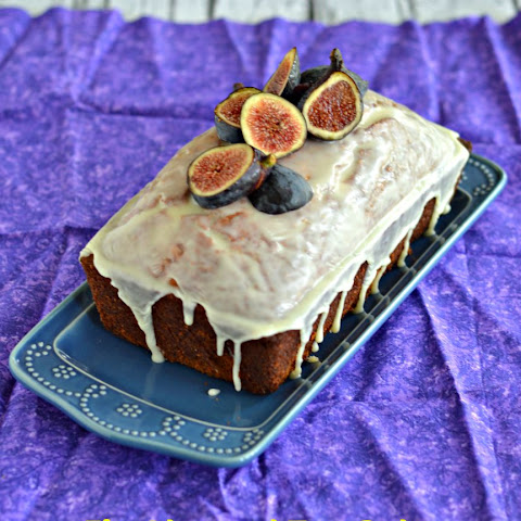 Fig Almond Tea Bread