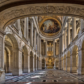 Palace at Versailles by Becky Kempf - Buildings & Architecture Public & Historical ( versailles, france, palace )