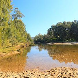 Yarramundi River by Kirsten Evans - Novices Only Landscapes