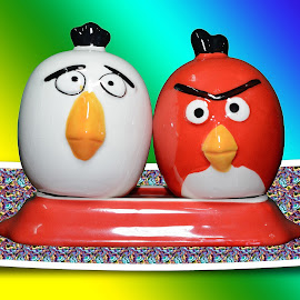 Angry Birds by Malay Maity - Artistic Objects Cups, Plates & Utensils (  )