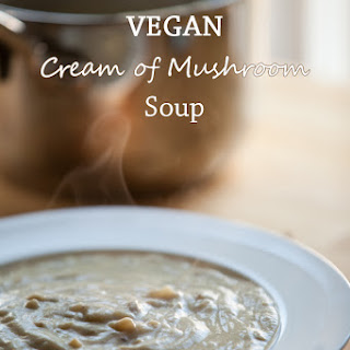 Classic Cream of Mushroom Soup (Vegan + Grain-free)