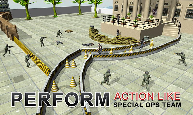 Army Shooter: President Rescue Screenshot 3