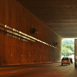 Tunnel by Terry Linton - Transportation Roads (  )