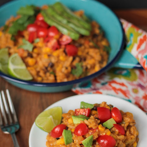 Southwest Pumpkin Risotto