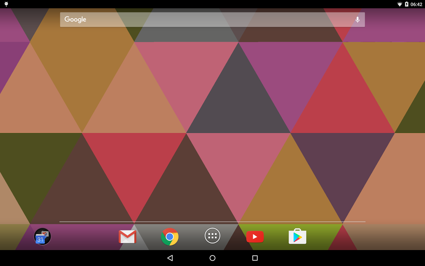 Triangles Live Wallpaper Screenshot 8