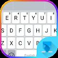 White Theme Emoji Keyboard