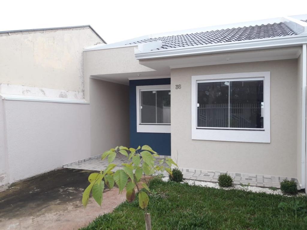 Casa com 3 dormitórios à venda, 56 m² por R$ 176.900 - Nações - Fazenda Rio Grande/PR