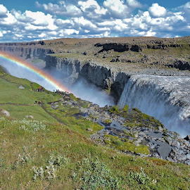 Iceland: Dettifoss waterfall by Mario Falcetti - Landscapes Waterscapes