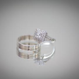 Bride and Grooms Ring  by Faisal Enam - Wedding Details ( lebanese wedding, ring, wedding, diamond, gold, bride, groom )