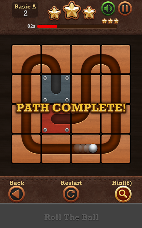 Roll the Ball™: slide puzzle 2 Screenshot 2